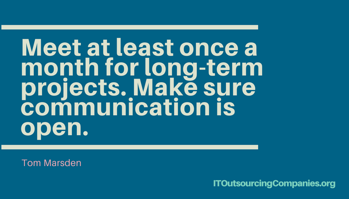 outsourcing it companies quote