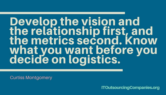 experts quote on outsourcing