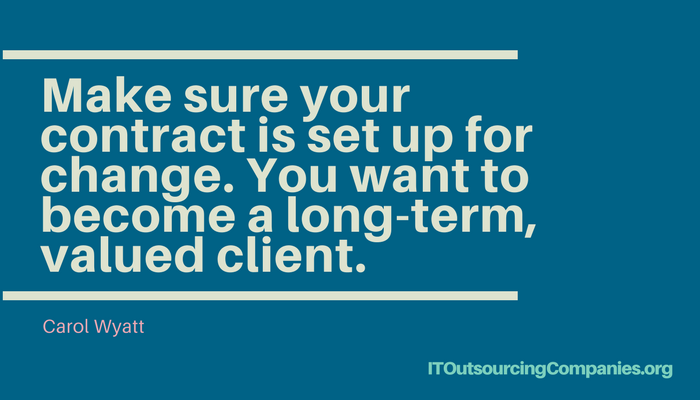 outsourcing advice