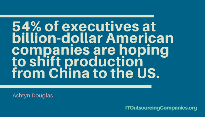 outsourcing companies in the usa statistics