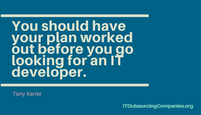 quote about hiring it development services