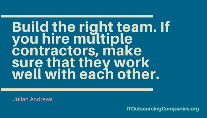 quote on hiring it outsourcing companies