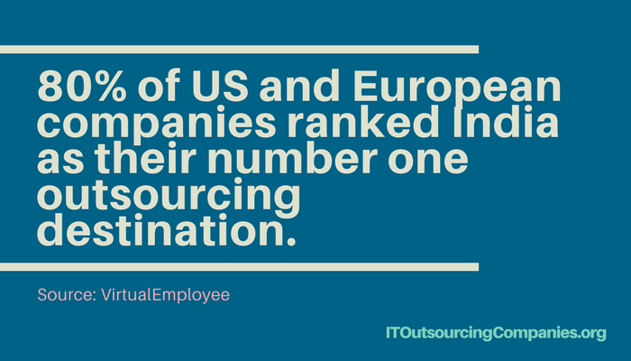 outsourcing to india statistics