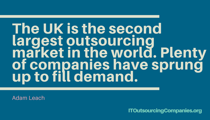 quote on outsourcing companies uk