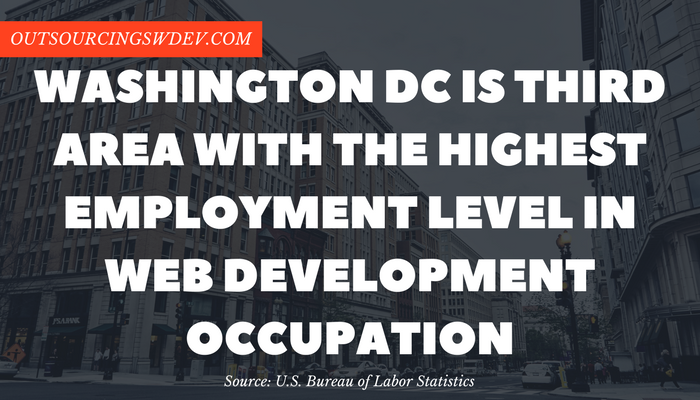 web development washington dc statistics