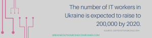 number of IT workers in Ukraine