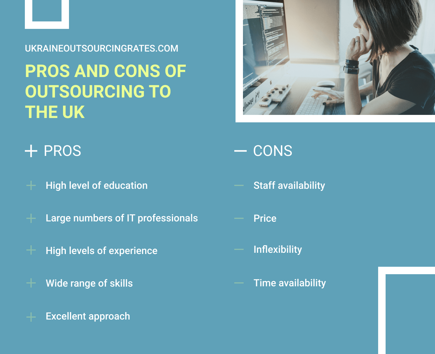 pros and cons of the uk it outsourcing