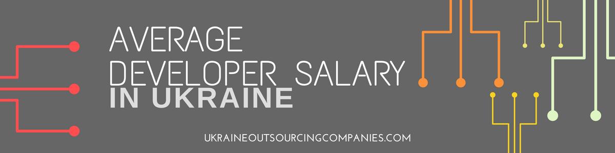 ukraine developer salary