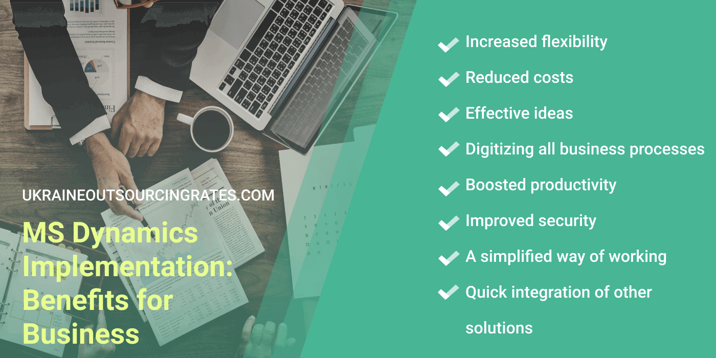 ms dynamics implementation benefits for business